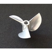 42mm 3-blatt Propeller DD 1.7er Steigung *links*